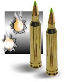 Armor Piercing .223 Ammunition - 100 Pack