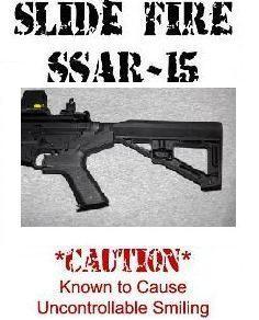 Slide Fire SSAR-15 Bump Fire Stock, New Model