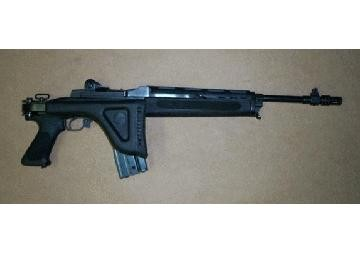 Mini-14/30 Side Folding Stock Blued