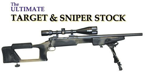 The Ultimate Target & Sniper Stock by Choate, Remington BDL Short Action, Camo in Color
