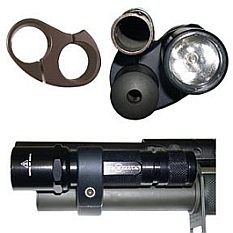 Great Tactical Shotgun Light Mount For Mossberg 590A1 Heavy Barrel Photo