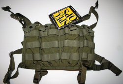 M.O.U.T Chest Rig in OD (Olive Drab) Green