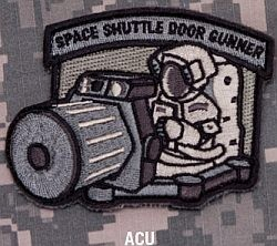 Space Shuttle Door Gunner Patch in ACU & Delta Force | Space Shuttle Door Gunner Patch in ACU