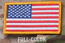 US Flag Patch in Color