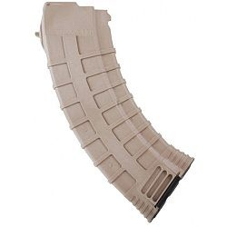 Tapco AK 47 7.62 x 39, 30rd Magazine In FDE (Tan)