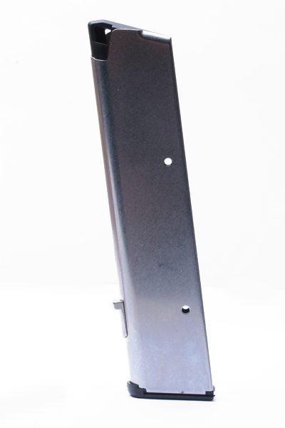 "1911 .45ACP Full-Size 10rd Magazine with Ultra Thin Base Pad (extends 1"" below grip)"