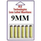 9MM Less Lethal Pistol Ammo 6 Pack For Home and Self Defense