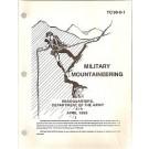 Mil Mountaineering '84, 81/2 x11, 530 pp., illus.