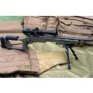 The Ultimate Target & Sniper Stock by Choate, Remington BDL, Long Action, Olive Drab in Color