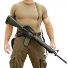 Spec-Ops Mamba Combat Sling For AR-15 with Fixed Stock, OD Green
