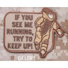 Try to Keep Up, Patch in Desert
