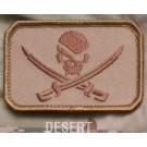 Pirate Skull, Patch in Desert