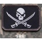 Pirate Skull, Patch in Swat