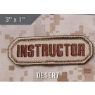 Instructor, Patch in Desert