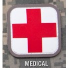 Medic Square Patch in Color