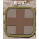 Medic Square Patch in Desert
