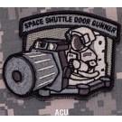Space Shuttle Door Gunner Patch in ACU