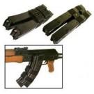 Mag CINCH Dual Magazine Holder for AK-47/Galil/Valmet, BLACK