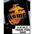 USMC Train for War T-Shirt TK533