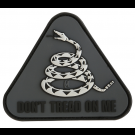 DON'T TREAD ON ME PVC VELCRO PATCH IN SWAT