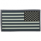 REVERSE USA PVC VELCRO PATCH LARGE IN SWAT