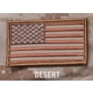 US Flag Patch in Desert