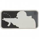 MAJOR LEAGUE SHOOTER PVC VELRCO PATCH IN SWAT